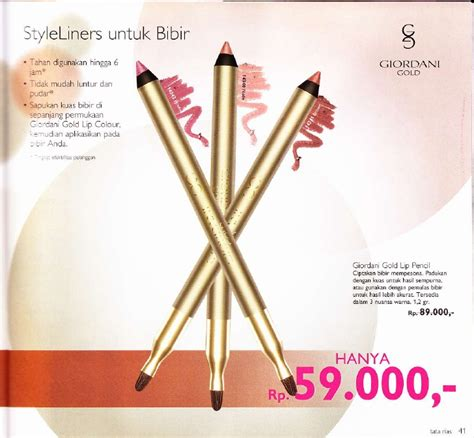 Kuas Lipstik Gold catalog 03 2011