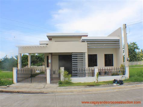 modern bungalow house plans in philippines bungalow home