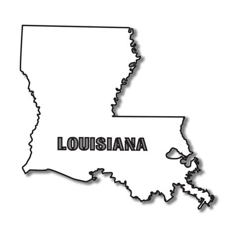 Louisiana Boot Outline by Image Gallery Louisiana Shape