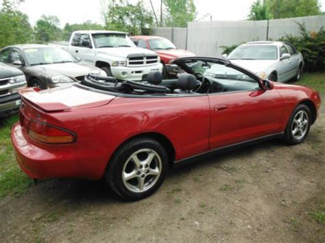 1999 Toyota Celica Convertible Find Used 1999 Toyota Celica Gt Convertible 2dr 5speed 2