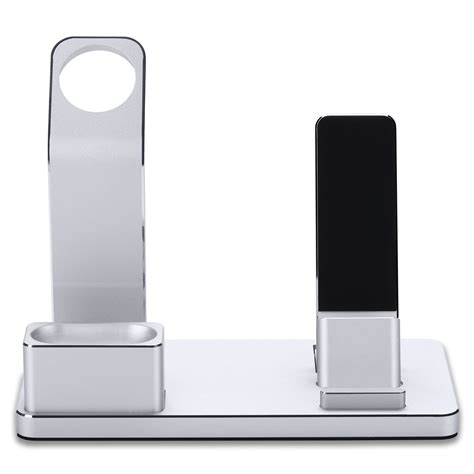 Quality Sale New Apple Airpods With Charging Bnib Aif612 4 in 1 charging dock station stand charger for apple iphone airpod bt ebay
