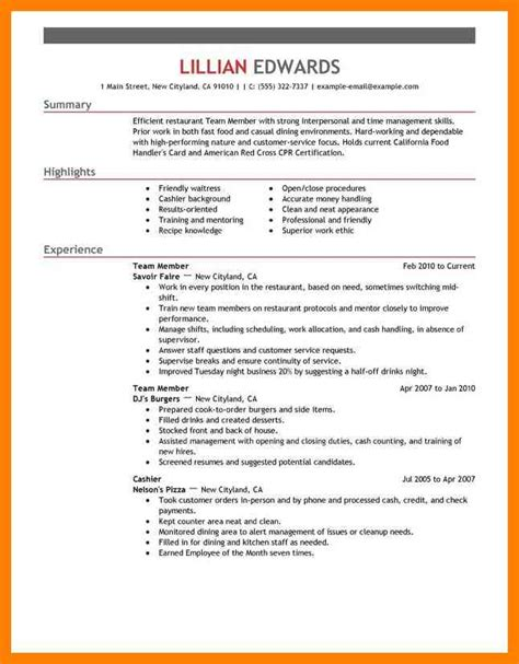 9 casual resume template cna resumed