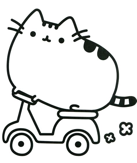 Pusheen Printables pusheen coloring pages best coloring pages for