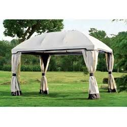 10x13 Pomeroy Domed Top Gazebo by Pomeroy Domed Top Gazebo 10 X13 Sam S Club