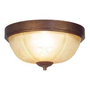Home Depot Flush Ceiling Lights Hton Bay Lone Collection 2 Light Flushmount Desert Sands Ceiling Light 17207 The Home