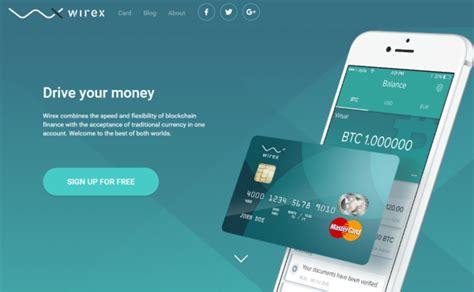bitconnect debit card e coin bitcoin debit card rebrands as wirex adds new