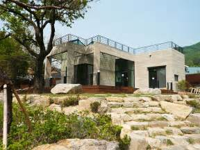 Modern Home Design Outdoor by Contemporary Modular Homes Stones Staircase Outdoor Design