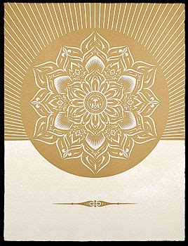Obey Black Gold White obey lotus white and gold the the