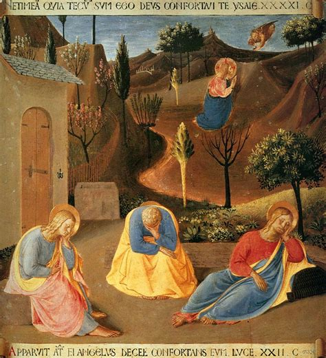 fra angelico agony   garden  oil painting reproduction