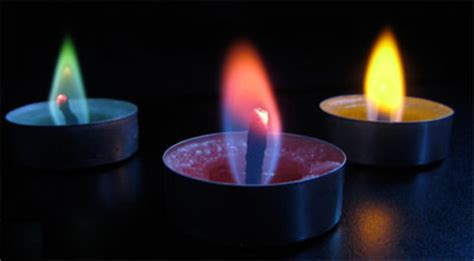 color flame tea light candles partieskids