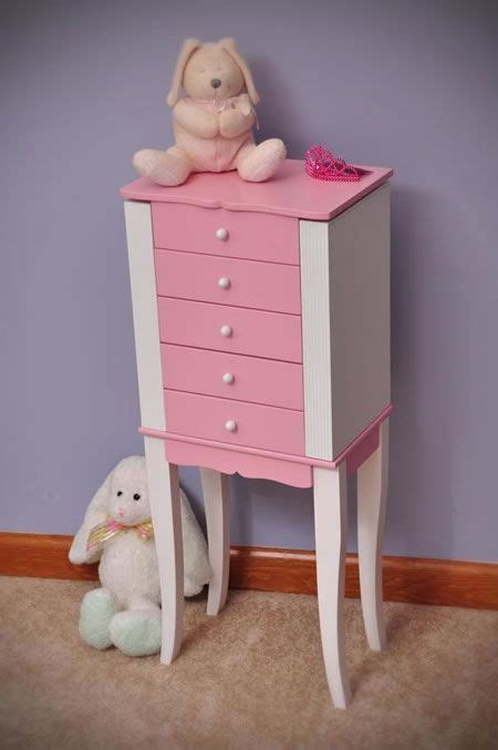 little girl jewelry armoire louisa girl s pink and white jewelry armoire available at