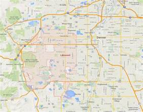 map lakewood colorado lakewood colorado map