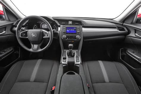 honda civic 2016 interior motortrend 2016 honda civic sedan first look review