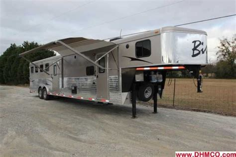 horse trailer awnings bison horse trailer for sale new 2013 4 horse trailer with