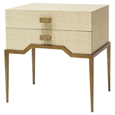 Livingroom Accent Chairs lucetta coastal beach antique gold natural raffia end