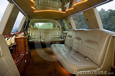 Interior Leather Bar Free by Limousine Interior Royalty Free Stock Photography Image