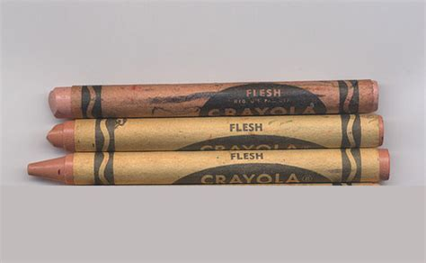flesh colored crayon overview for editorkate