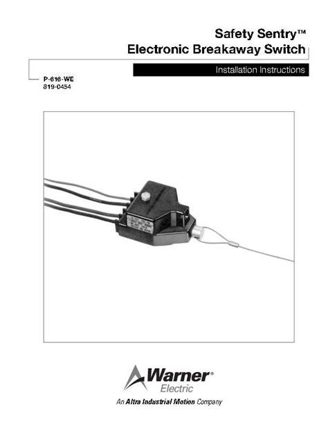 trailer breakaway switch wiring diagram smartdraw diagrams