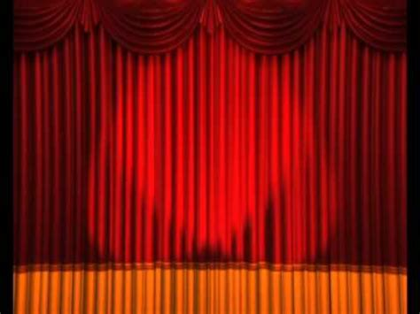 curtain opening opening curtains lights flashing stage animation anime