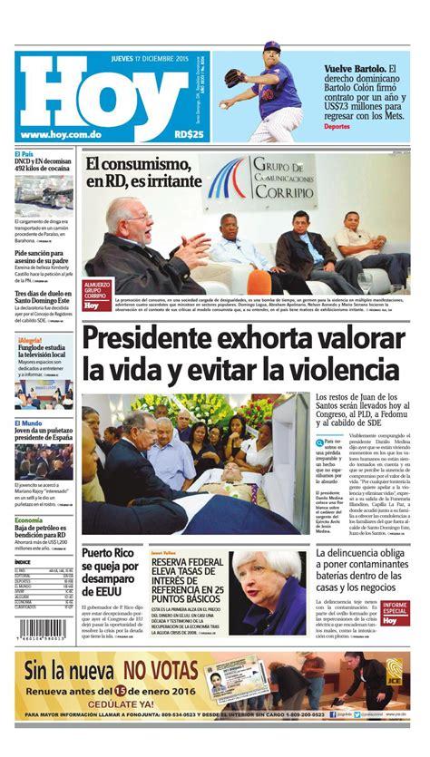 doodle de hoy 17 de diciembre peri 243 dico 17 de diciembre 2015 by periodico hoy issuu