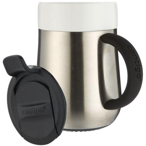 thermo ceramic desk mug contigo 14 oz thermo ceramic desk mug ebay