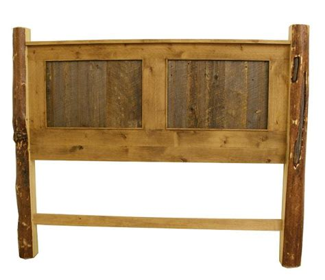 pine wood headboard alder barn wood pine post headboard