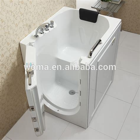 Portable Walk In Bathtub by Cupc Certificate Indoor Portable Elderly Walk In Bathtub