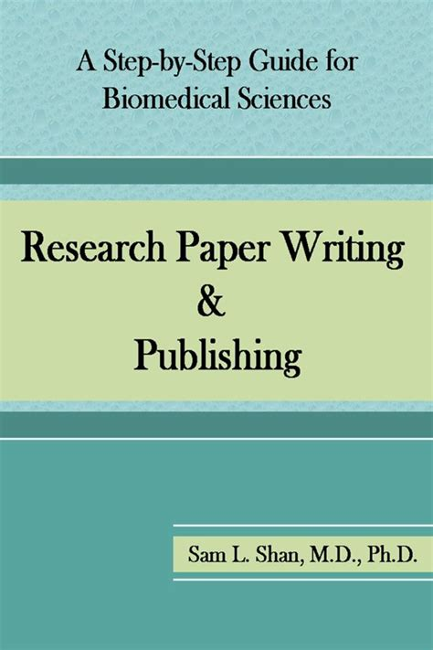 step by step writing a research paper bol research paper writing publishing a step by