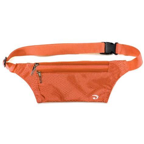 Sport Pouch Belt Orange buy unisex running bum bag travel handy hiking sport waist belt zip pouch bazaargadgets