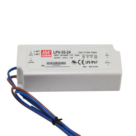 Power Supply Well Led Driver Lpv 60 24 well class 2 led driver power supply 100 240 vac