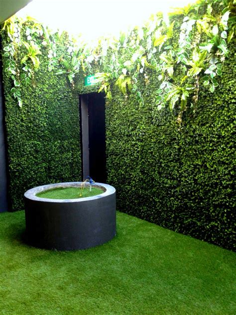 Artificial Green Wall Outdoor - wall covering greenturf asia