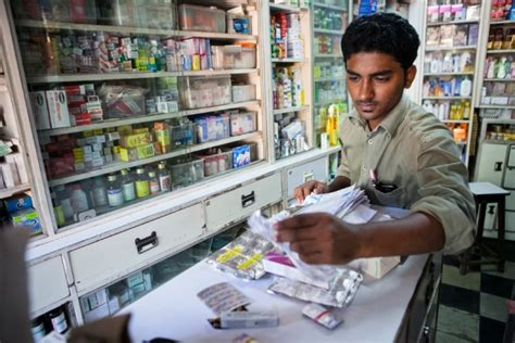 Indian Pharmacy by India To Tackle Antibiotic Resistance Nature News