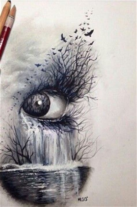 Cool Things To Draw With Charcoal by 25 Best Ideas About Eye Drawings On Eye