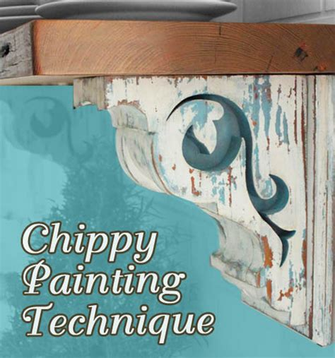 diy chalk paint chipping aging is so distressing techniques for antiquing furniture