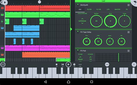 fl studio apk free fl studio mobile android apk data free v3 1 53