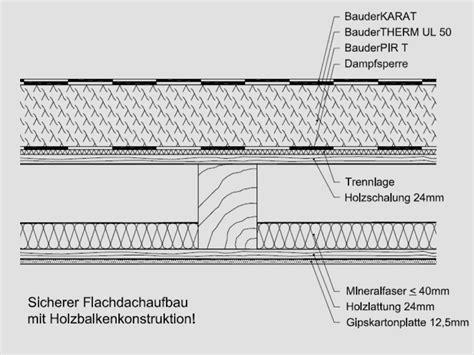 Garage Flachdach Holzkonstruktion by Flachdach Holzbalkend 228 Cher Mit Zwischensparrend 228 Mmung