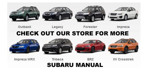 2005 2009 subaru outback factory repair service fsm manual wiring diagram other car manuals 2005 2009 subaru outback factory repair service fsm manual wiring diagram other car manuals