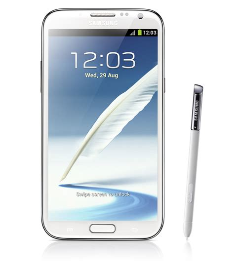mobile samsung note 2 samsung galaxy note 2 looks like a worthy successor