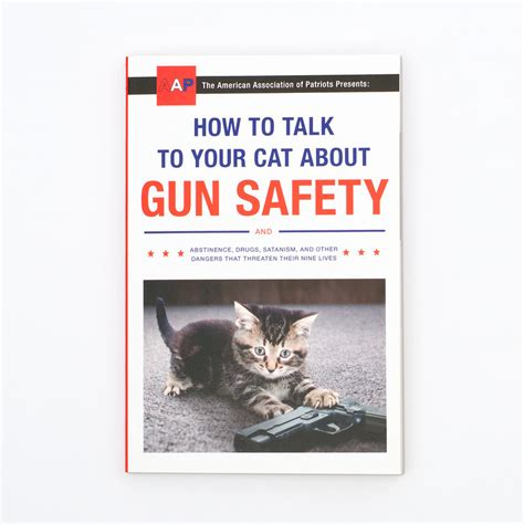 how to your to speak how to talk to your cat about gun safety firebox