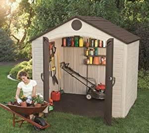 lifetime 6418 outdoor storage shed 8 by 5