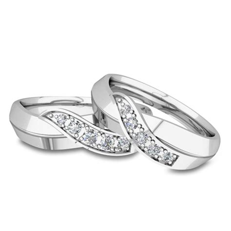 his and infinity rings his and matching wedding bands platinum infinity