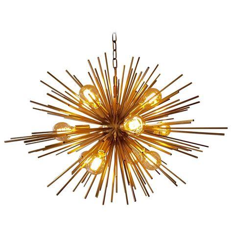 Sunburst Chandelier Bronze Sputnik Or Sunburst Chandelier For Sale At 1stdibs