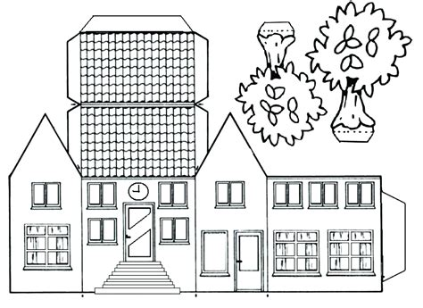 gingerbread house template printable a4 template simple gingerbread house template plans fresh