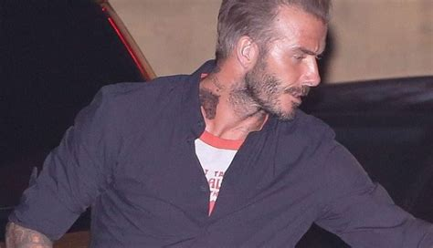 tattoo david beckham neck star tattoo on neck male models picture