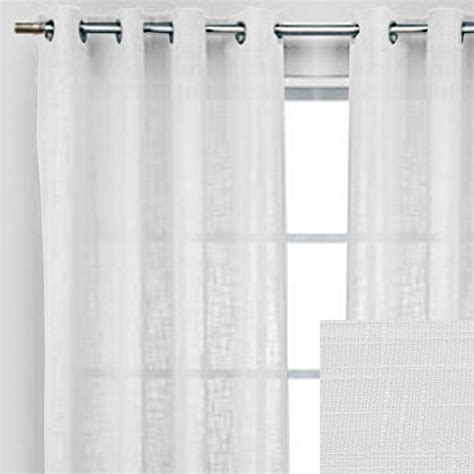 Rodeo Home White Curtains Caprice Window Panels From