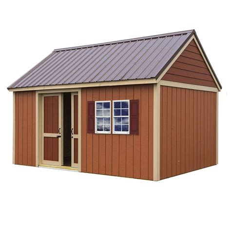 best barns brookhaven 10 ft x 16 ft storage shed kit clear shop your way shopping