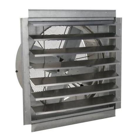 home depot exhaust fan ventamatic 24 in 4100 cfm wall mount industrial exhaust