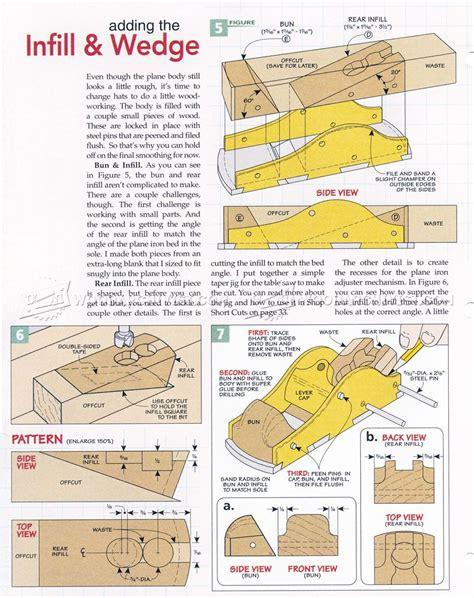 custom infill block plane woodarchivist