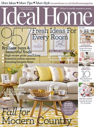 Ideal Home Magazine July 2014 Subscriptions Pocketmags | ideal home magazine july 2014 subscriptions pocketmags