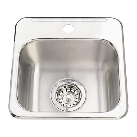 bar sinks for sale kindred qsl1313 6 steel queen topmount 13 63 in single